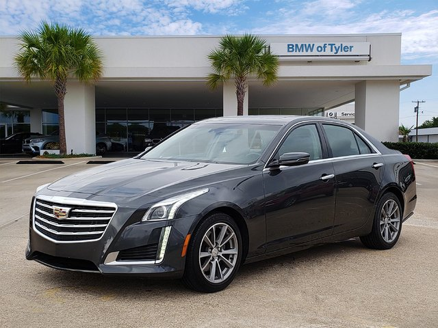 Pre-Owned 2018 Cadillac CTS Sedan Luxury RWD